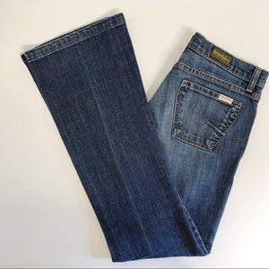 David Khan Jeans W30xI32 Bootcut Flare Low Rise